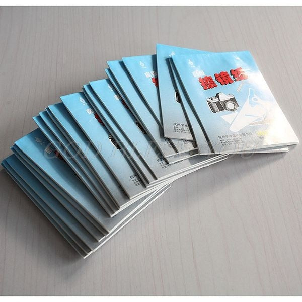 50-500 Sheets Soft Camera Lens Optics Tissue Cleaning Clean Paper Wipes Booklet Drop Shipping