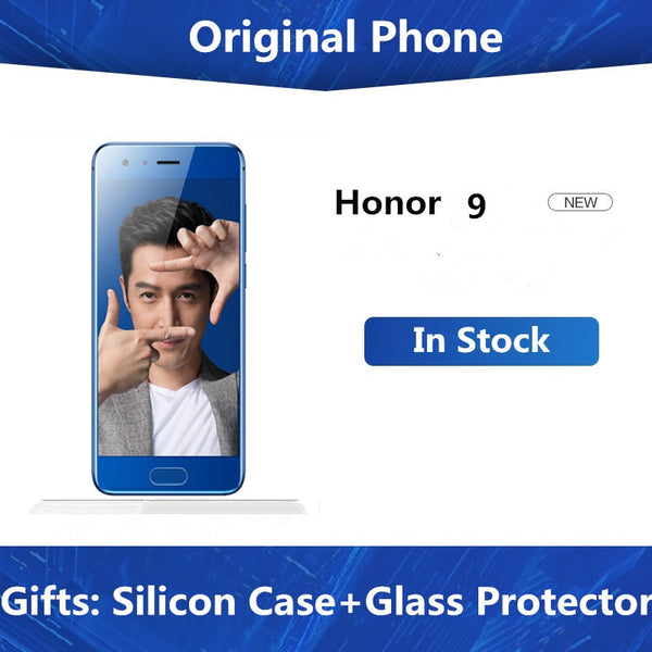 Original Honor 9 4G LTE Mobile Phone Kirin 960 Octa Core Android 7.0 5.15