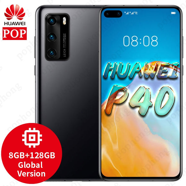 Global Version Original HUAWEI P40 5G MobilePhone 6.1 inch Kirin 990 5G SoC Octa Core Android 10 Bluetooth 5.1 in-Screen SA/NSA