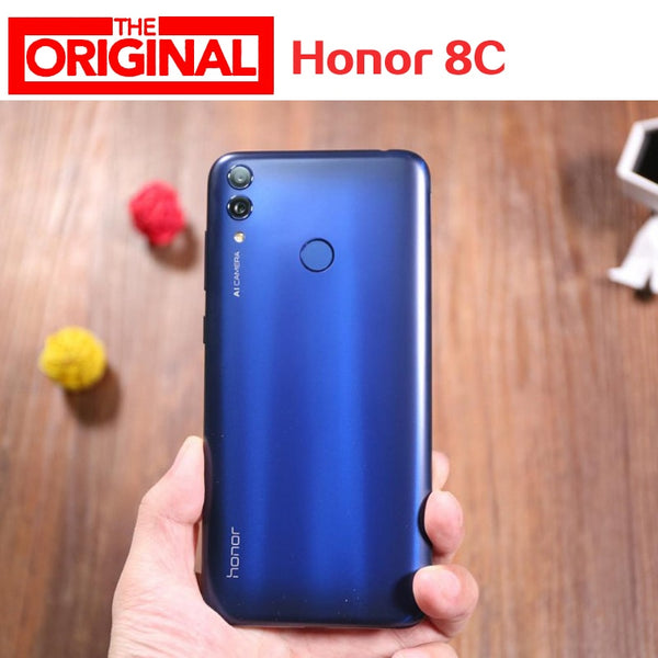 Stock International Firmware Honor 8C 4G LTE mobile Phone Octa Core 4GB RAM 128GB ROM Android 8.1 6.26