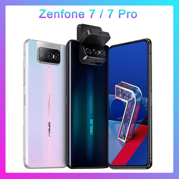 ASUS Zenfone 7 Pro global version 8GB RAM 256GB ROM Snapdragon 865/865Plus 5000mAh NFC Android Q 90Hz 5G Smartphone phone