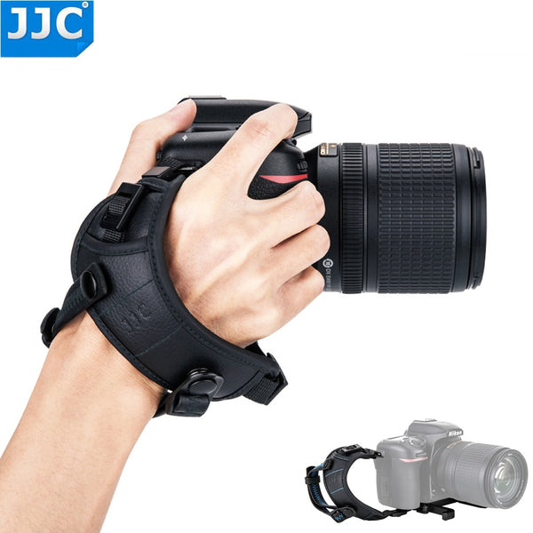 JJC Deluxe Camera Hand Grip Strap Wrist Strap For Sony Nikon Canon Fuji Panasonic Olympus With 1/4