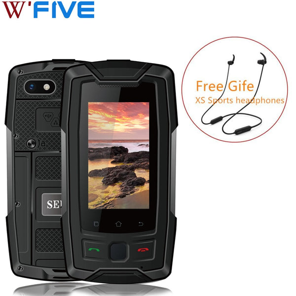 SERVO X7 Plus 4G LTE Smartphone IP68 Waterproof Rugged cellphone NFC Glonass AGPS 3100mAh Walkman small mobile phone 2GB 16GB