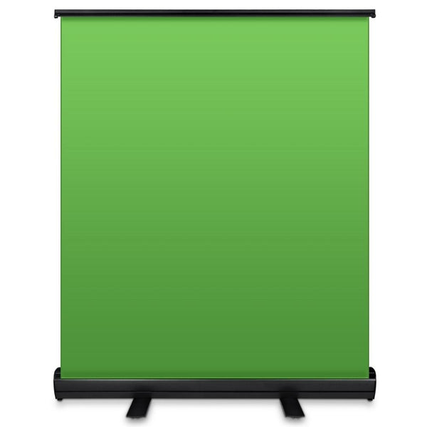Portable Collapsible Chromakey Panel Backdrop 110*200cm Pull Up Wrinkle-Resistant Green Screen Background for Photo Video Live (A)
