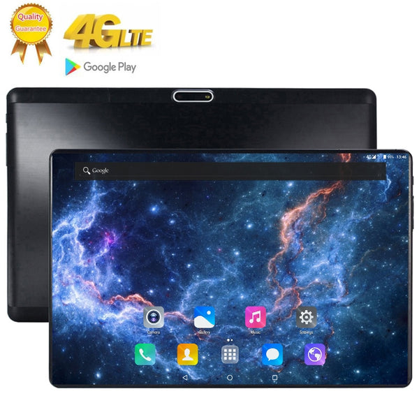 Resolution 1920x1200 10.1 inch 2.5D glass Screen Tablet 8 Core Dual SIM 4G LTE FDD 8.0 MP GPS Android 7.0 google the tablet pc