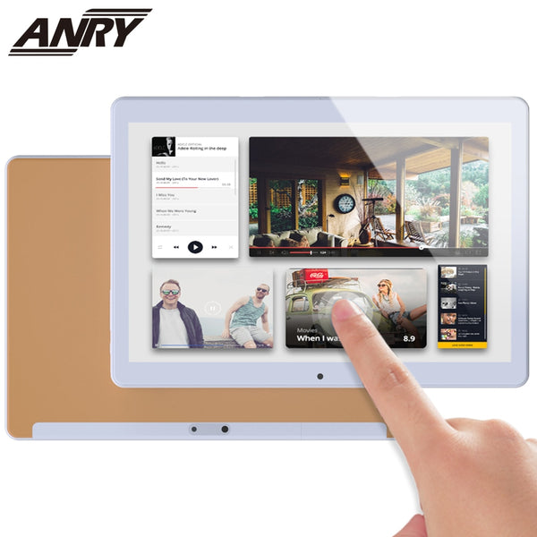 ANRY RS20 10.1 inch 4G Phone Call Android Tablet WiFi Gaming Tab 2 GB RAM 32GB ROM MTK6737 Processor Quad Core