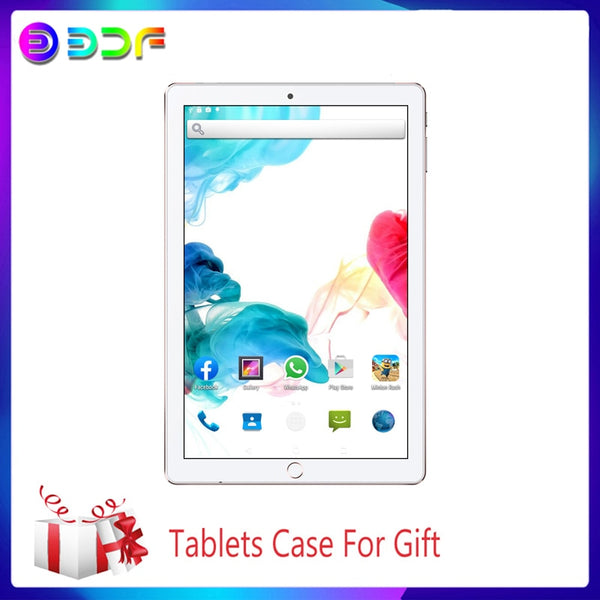 10.1 inch Tablet PC Android 3G/4G Phone Call Octa Core 6GB/64GB Dual SIM Wi-Fi Bluetooth 4.0 New System TabletS+Keyboard