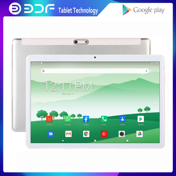 New 10 Inch 3G 4G LTE Phone Call SIM Card Octa Core Tablet Pc Android 9.0 2GB+32GB Tablets Android 7.0 1GB+32GB WIFI Bluetooth