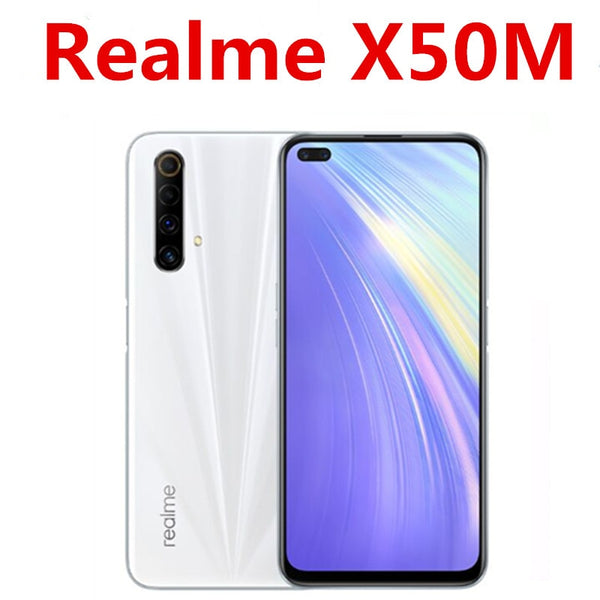 2020 New Realme X50M 5G Phone Snapdragon 765G Android 10.0 6.57