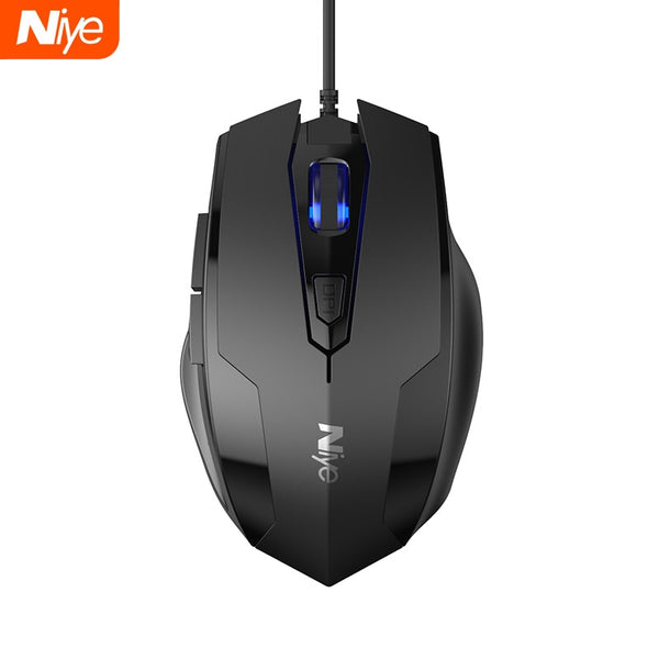 USB Wired Gaming Mouse 2400DPI Adjustable 7 Buttons LED Optical Professional Gamer Mause Computer Mice for PC Laptop Mouse Gamer