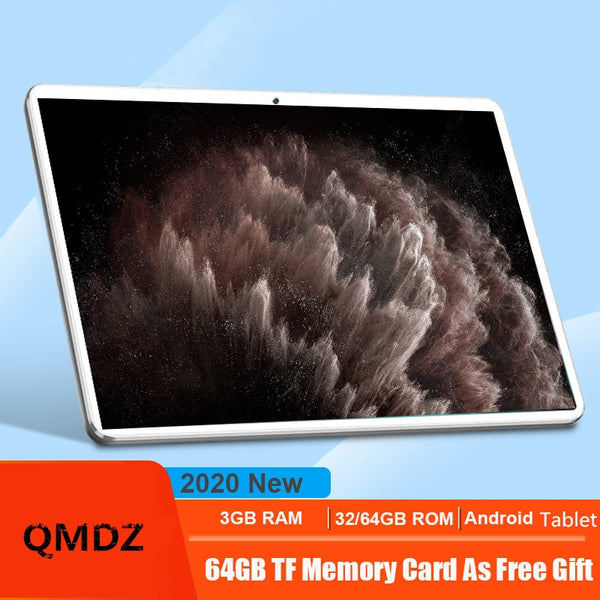 10.1 Inch Tablet Pc Octa Core MT6753 32GB+64GB ( 32GB +64GB TF) 4G Lte Tab Wifi GPS Bluetooth Android 8MP Tablets 1920x1200 IPS