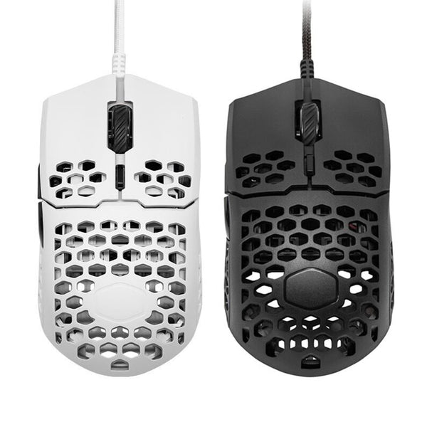 Cooler Master MM710 Gaming Mouse 7 Gears 16000 DPI Adjustable Honeycomb Shell USB Wired Mice for Home Office Gamer
