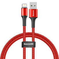 Baseus USB Cable For iPhone 11 Pro Xs Max Xr X 2.4A Fast Charging Mobile Phone Cable For iPhone  8 7 6 6S Plus 5 iPad Wire Cord