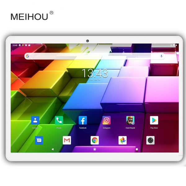 New Version Android 9.0 OS 10 Inch Tablet Octa Core Dual SIM Card Phone Call Type-C 5g Wifi GPS IPS 3GB RAM 32 GB ROM +Gifts