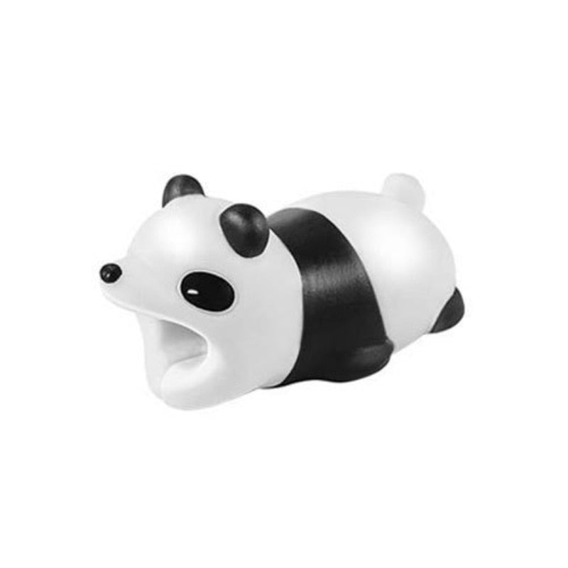 Cable Protector Cartoon Animal Cable Organizer Phone Charging Cord USB Cable Protector Management Data Cable Sleeve Cable Winder