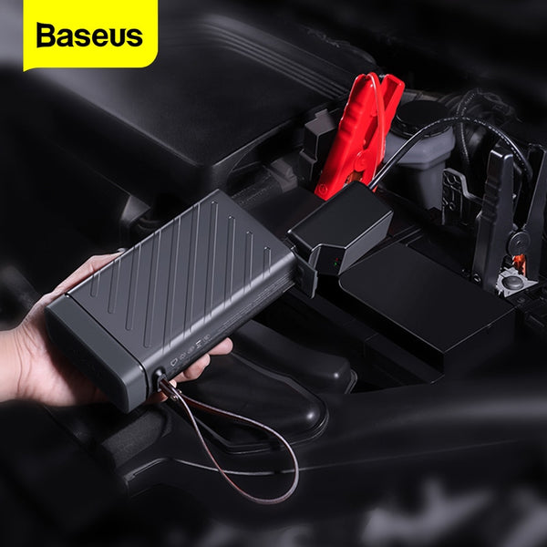 Baseus 16000mAh Power Bank 12V Car Jump Starter Portable Power Station 220v AC Output Outdoor Power Supply For Car Phone Laptop