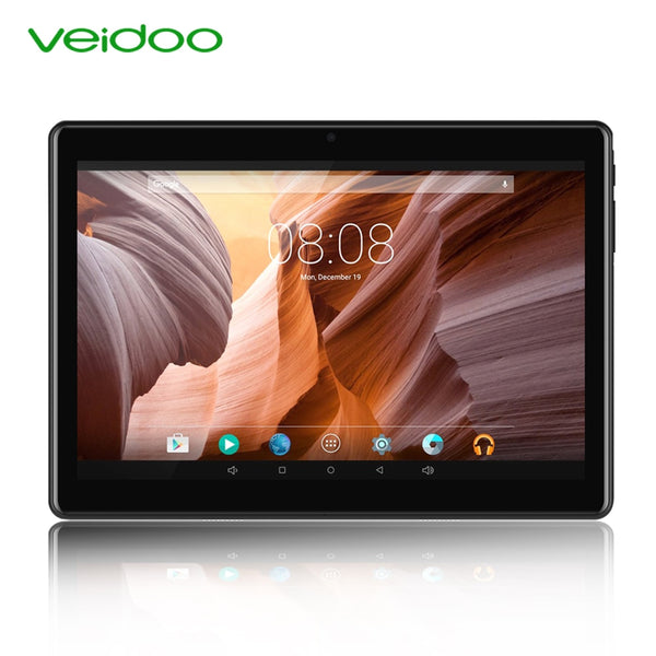Veidoo 4G Phone Call Tablets Octa Core 10.1 inch Full HD 1920×1200 4GB RAM 64GB ROM LTE GPS Android 9.0 6000mAh Tablet PC