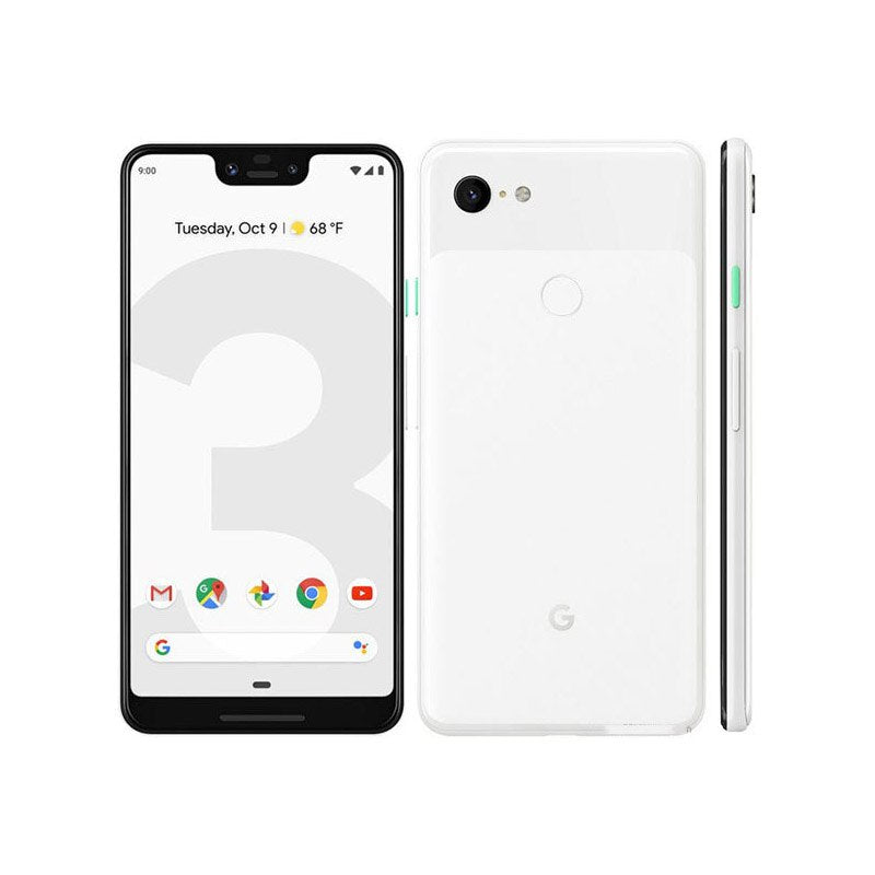 Original Brand New Google Pixel 3XL Mobile Phone Global 4GB 64GB Snapdragon 845 Octa Core 6.3 inch Android 9.0 NFC 4G LTE 3xl