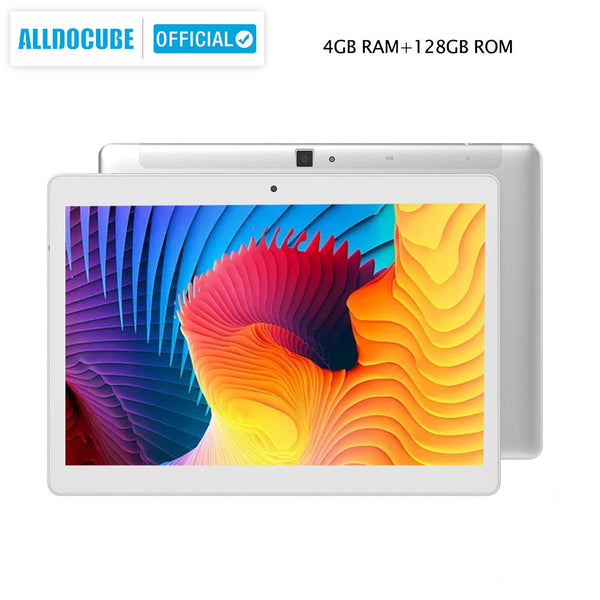 ALLDOCUBE M5X Pro 10.1 inch Tablet Android 4GB RAM 128GB ROM MTK X27 4G LTE 10 Core Phone Call Tablets PC 2560*1600 IPS