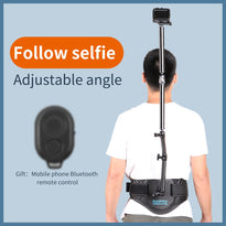 Panoramic Camera Wasit Belt Holder Wearable Mount Stand Bracket for GoPro Hero 8 7 6 5 OSMO pocket action mobile Phone JR Deals