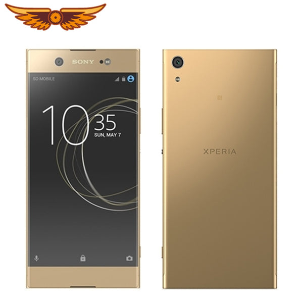 Original Unlocked Sony Xperia XA1 Ultra 6.0Inches Octa-core 4GB RAM 32GB ROM 23MP LTE 1080P Dual SIM Refurbished Cellphone