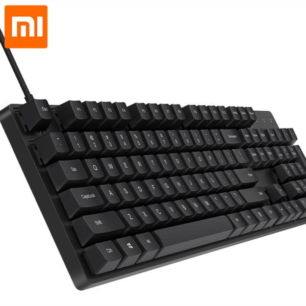 Xiaomi Gaming Mechanical Keyboard CHERRY 104 keys Cherry MX Switch 1000Hz 1.8m Mechanical Keyboard NO Blacklight Keyboard Office