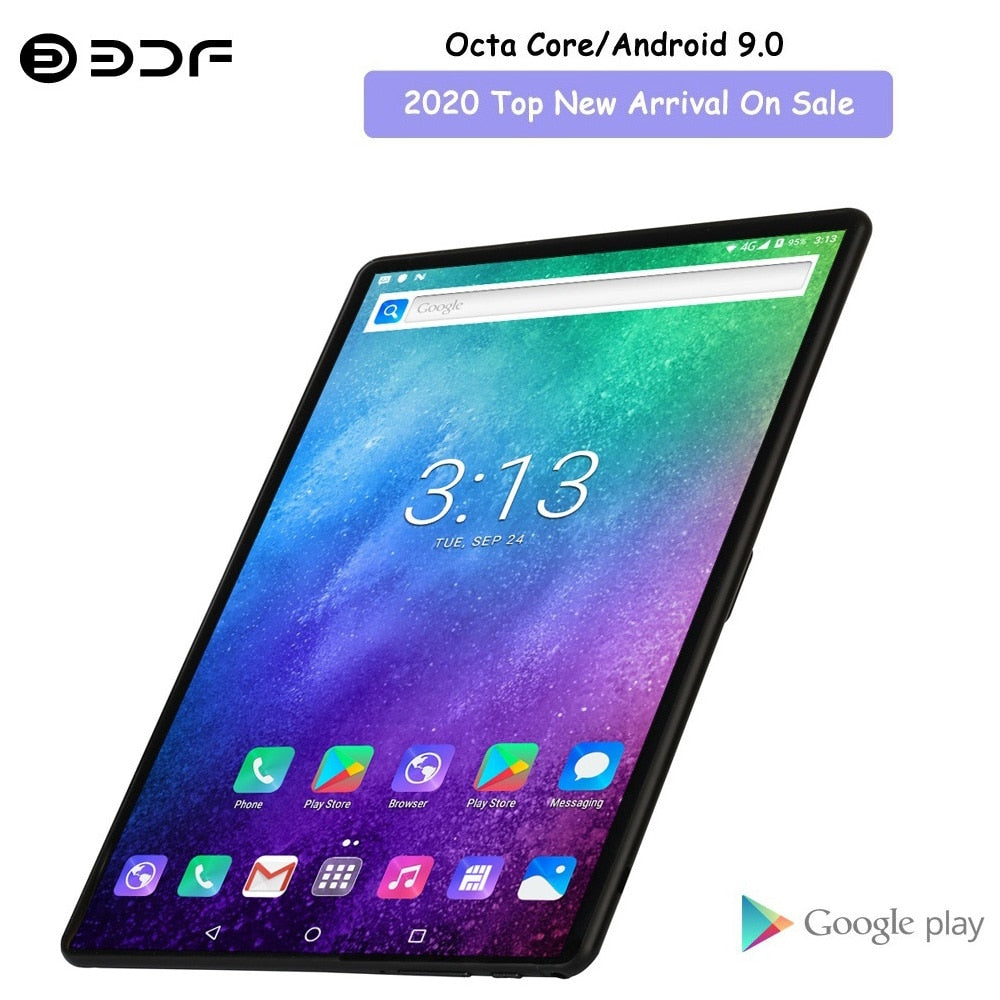 2020 Top New Arrival On Sale 10.1 Inch Octa Core Tablet Pc Android 9.0 Google Play 4G LTE Phone Call Tablets GPS WiFi Bluetooth