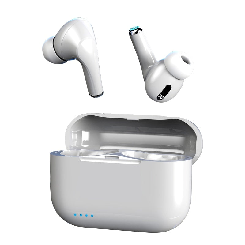 headphones wireless bluetooth earphone with microphone earphones noise canceling tws headset with charging box for mobile phone (TWS-PRO)