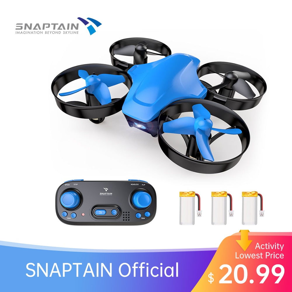 SNAPTAIN SP350 Mini Drone Portable Circle Flying 3D Flip Speed Adjustment  Altitude Hold dron Gift Toys Self Drone for Kids