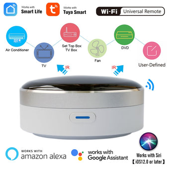Smart Life Universal Intelligent Remote Controller WiFi+IR Switch Home Appliances Automation Works with Google Home Alexa Siri