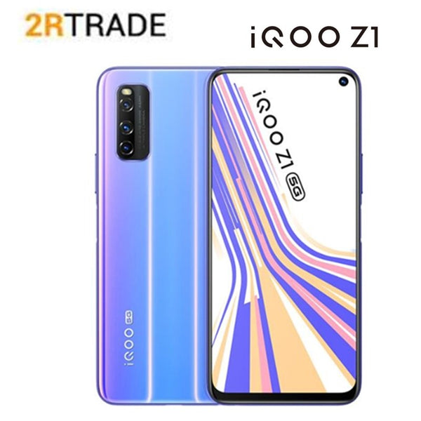 VIVO IQOO Z1 5G Smart phone 6.57 inches 144Hz refresh rate  Full Screen 44W Charging 4500mAh battery Side fingerprint Cellphone