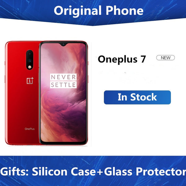 New Original Oneplus 7 Mobile Phone Snapdragon 855 Octa core 8GB 12GB RAM 256GB ROM UFS 3.0 6.41