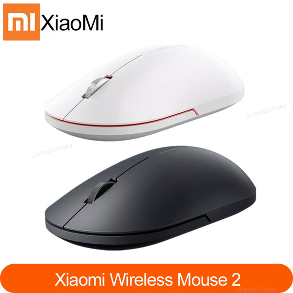 Xiaomi Wireless Mouse 2 2.4GHz 1000dpi  Game Mouses Optical Mouse Mice Mini Ergonomic Portable Mouse