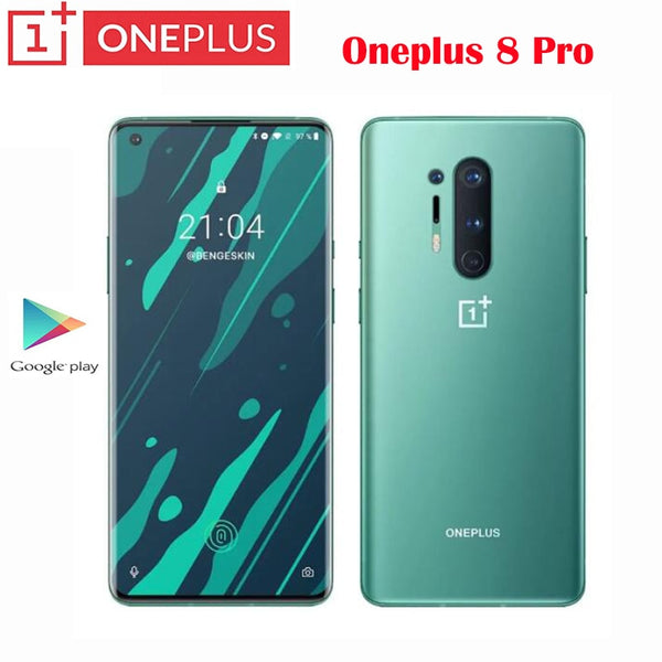 New Original Official OnePlus 8 Pro Smartphone Snapdragon 865 6.78inch 120Hz 2K+ Supper Fluid AMOLED Screen 48MP camera 4510mAh