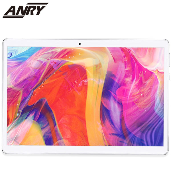 ANRY Tablet 10 Inch IPS 1920*1200 Deca Core Dual Sim Android 8.1 8000mAh MTK6797T X25 Phone Call 4G Tablet Pc