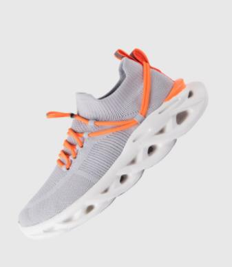 xiaomi mijia arc damping flying weaving jogging shoes one flying weaving sports shoes socks overshoes men's running shoes smart