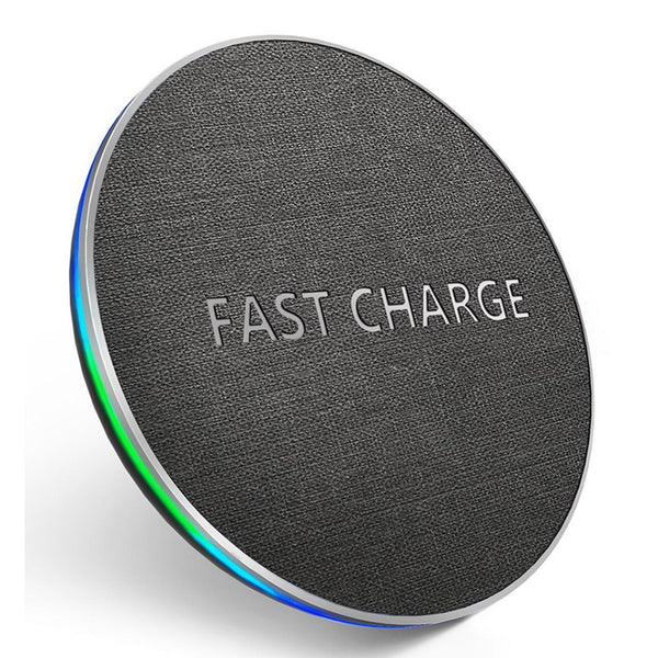 GETIHU 10W Qi Wireless Charger Fast Wireless Charging Pad For Samsung S11 S10 Note 10 9 8 For iPhone 11 Pro X Xs Max Xr 8 Plus