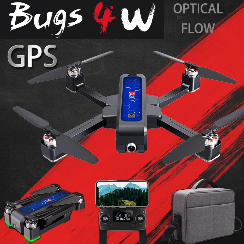 2020 New B4W GPS Drone Brushless Foldable RC Drone 5G Wifi Fpv With 4K Camera Anti-shake Optical Flow Rc Quadcopter Helicopter