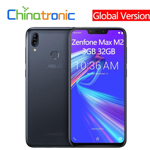 Global Version Asus Zenfone Max M2 ZB633KL 3G 32G 4G LTE 6.3