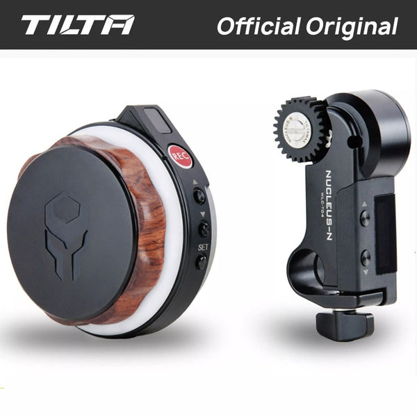 Tilta Nucleus-Nano Wireless Follow Focus Motor Hand Wheel Controller Nucleus Nano Lens Control System for Gimbal Ronin S Zhiyun