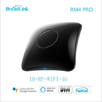 2020 Broadlink RM4 pro/ RM4C Mini Smart Home WiFi IR/RF Remote Controller Automation Modules work with Alexa amazon Google Home