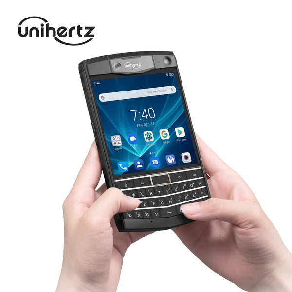 Unihertz Titan Rugged QWERTY Smartphone Android 9.0 Pie 6GB 128GB Unlocked Smart Phone Black