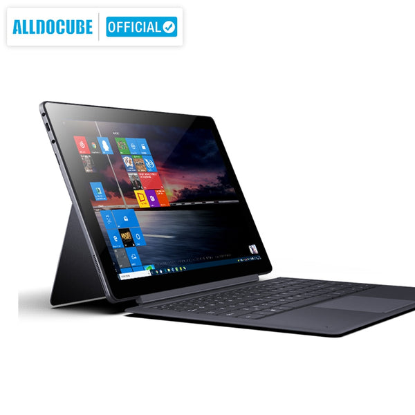 ALLDOCUBE Knote X Pro 13.3 Inch  2 IN 1 Tablet 2560*1440 IPS Windows 10 Intel Gemini Lake N4100 8GB RAM 128GB ROM Type C Tablets