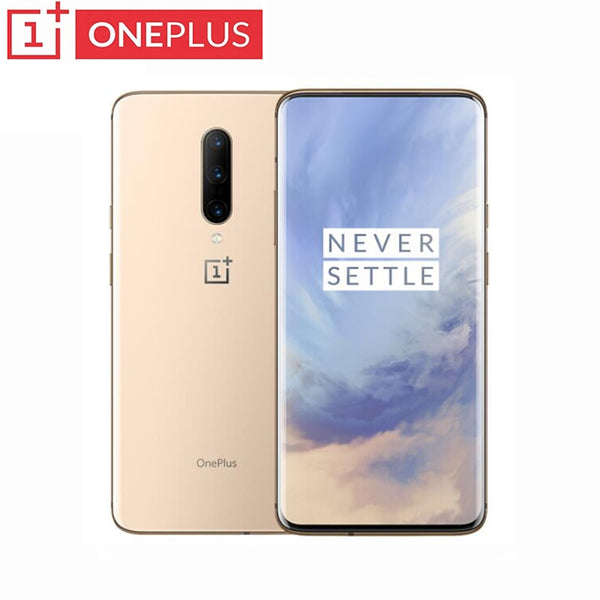 Official New OnePlus 7 Pro Snapdragon 855 Octa Core Smartphone 48MP Triple Rear Cams 6.67 Inch 2K+ Fluid AMOLED Screen Unlock