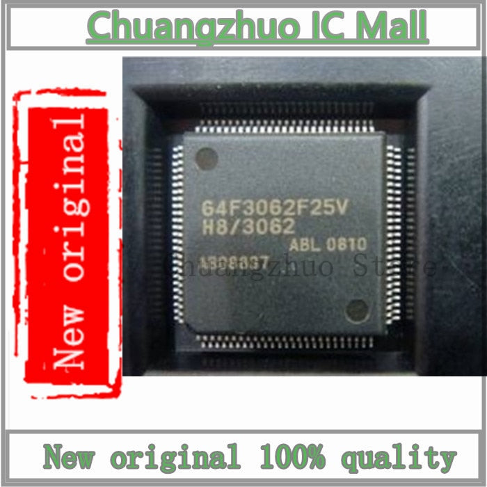 1PCS/lot HD64F3062F25V F3062F25V QFP Chip New original