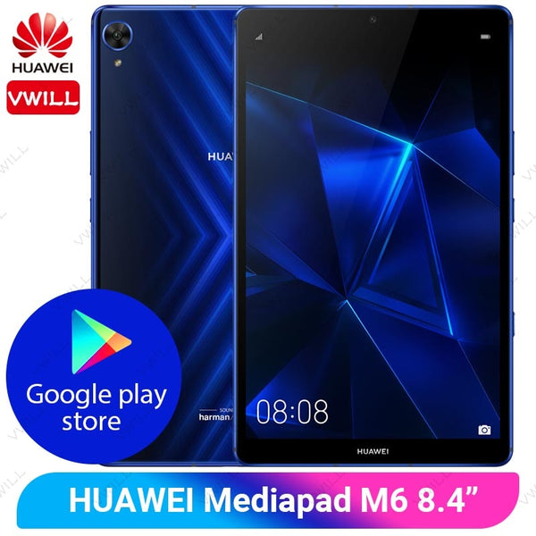 8.4 inch Huawei Mediapad M6 Pro Tablet PC 6GB 128GB Google Play Kirin 980 Octa Core Android 9.0 GPU Turbo Gaming tablet PC
