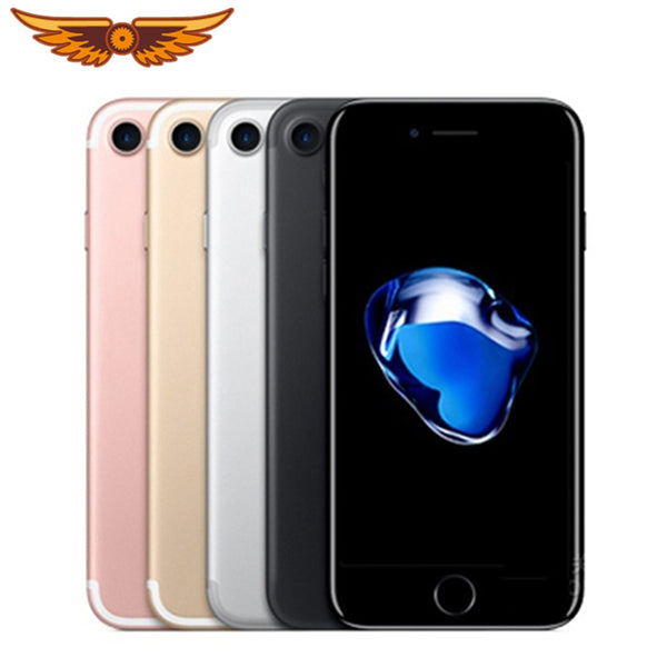 DHL Free Shipping Original iPhone 7 Quad Core 4.7Inch 2GB RAM 32/128GB ROM 12MP LTE IOS IPS Touch ID Unlocked Used Mobile Phone