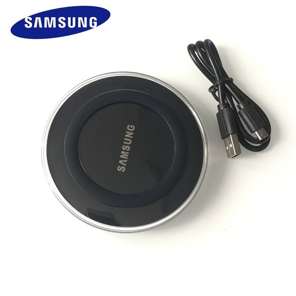Original Samsung Wireless Charger qi Charge Pad For Galaxy s10 S8 S9 S7 S6 EDGE s20 s20 plus Note 5 8 9 10 For xiaomi EP-PG920I