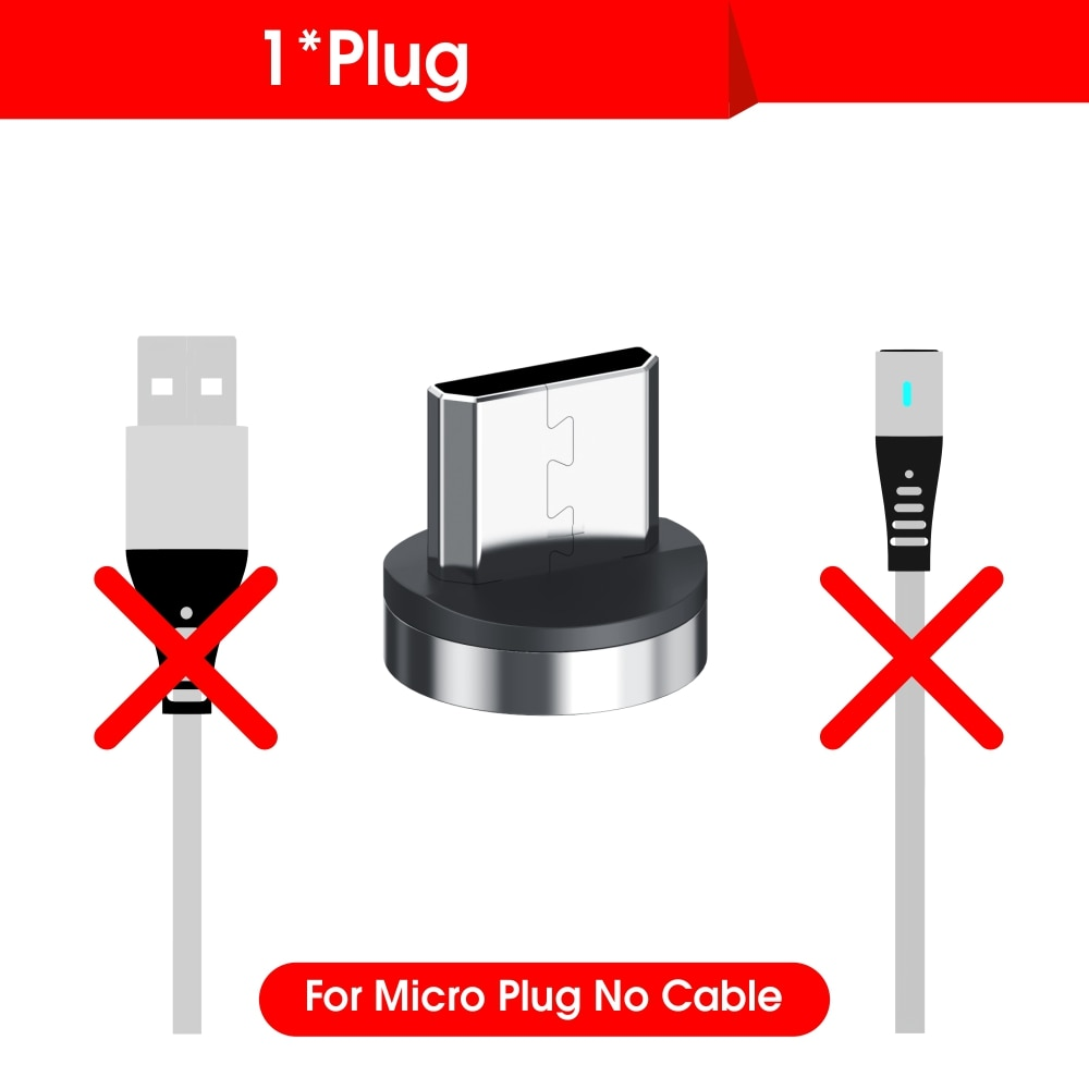 Vothoon 2.4A Magnetic Micro USB Type C Cable For iphone 11 Pro Xs Samsung S10 S7 Xiaomi Magnet Charger Mobile Phone Cable Cord