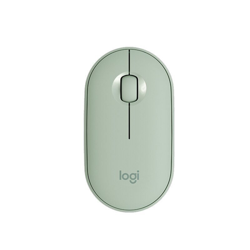 Original Logitech pebble Wireless Bluetooth Mouse Business Office Ultra-thin Boys/girls cute Portable mouse